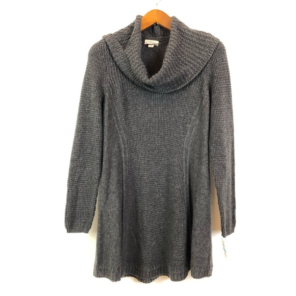 Style & Co Sweaters - Style & Co 0X Gray Cowl Neck Sweater 2-O4-10